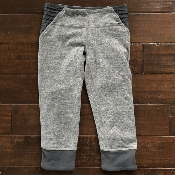 bb15f3c180 Ivivva Bottoms | Lululemon Girls Gray Capri Leggings Pants 8 | Poshmark